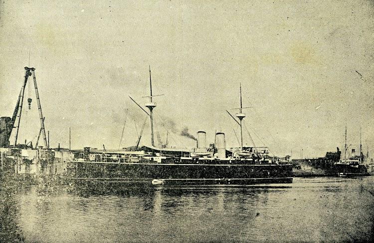 6-Crucero VIZCAYA. De la revista LA NATURALEZA. AÑO 1894..jpg