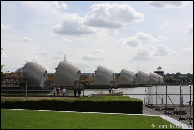 Derelict London Silvertown - The Thames Barrier