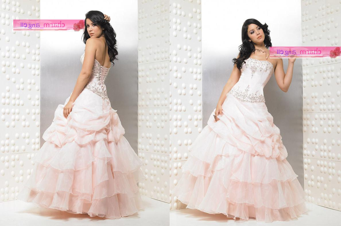 Light Pink Party   Prom Dress