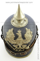 Pickelhaube from Pommmersches Pionier Bataillion Nr. 2