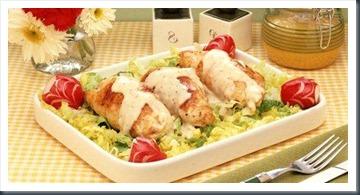 Pechuga de pollo a la mostaza