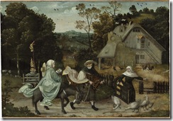 Jan_Wellens_de_Cock_(circle)_-_The_Flight_into_Egypt_(c.1520-30)