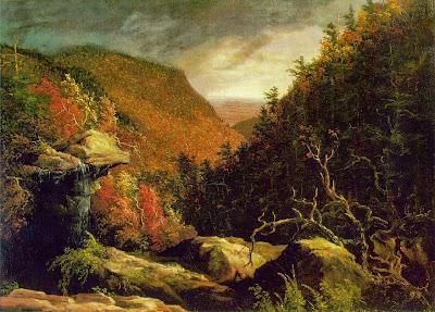 Thomas Cole - The Clove, Catskills
