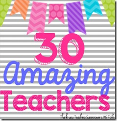 30 amazing teachers
