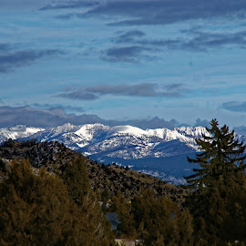 View to Ruby Ridge  by Marc Baisden - Landscapes Mountains & Hills ( the ruby valley, mountains, seasons, montana, travel, exploration )