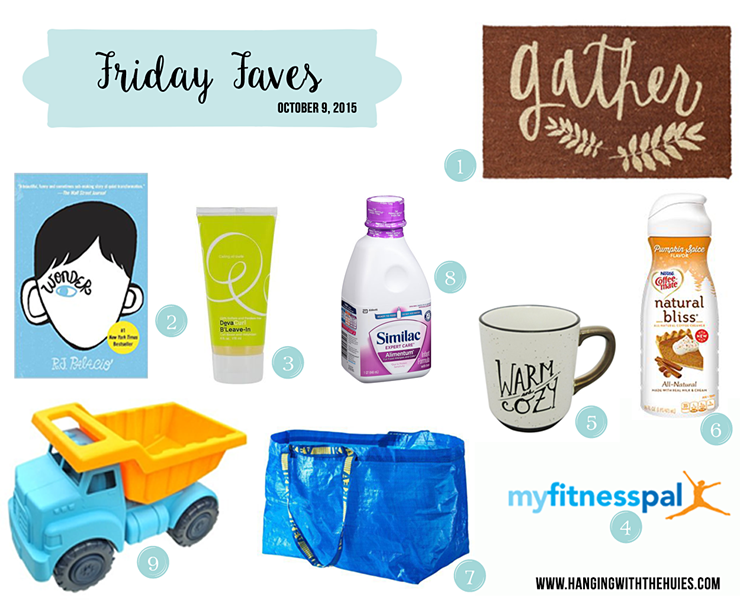 Friday Faves 10 8 2015