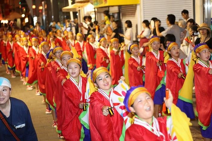 第60回よさこい祭り☆本祭2日目・上町競演場44☆上2目2827