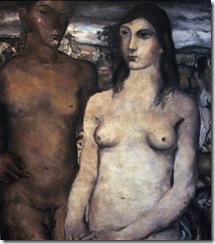 07. Delvaux, Paul - The Couple, 1929