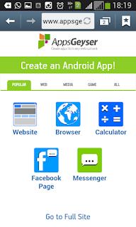 Membuat Aplikasi Android untuk Website/Blog Gratis Tanpa Coding