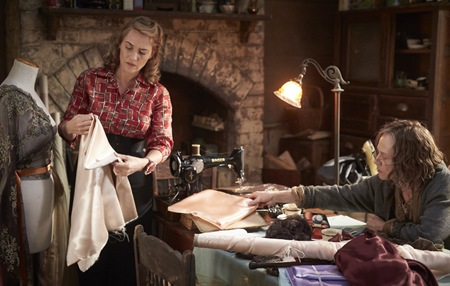 Kate Winslet and Judy Davis in The Dressmaker