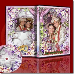wedding dvd cover temlate 1