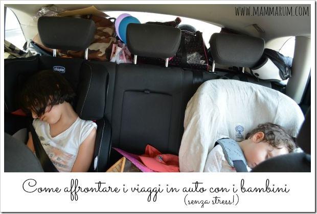 viaggi auto bambini