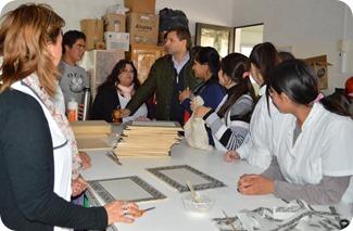 El intendente de La Costa, Juan Pablo de Jesús, entregó un aporte económico en una escuela de Mar de Ajó