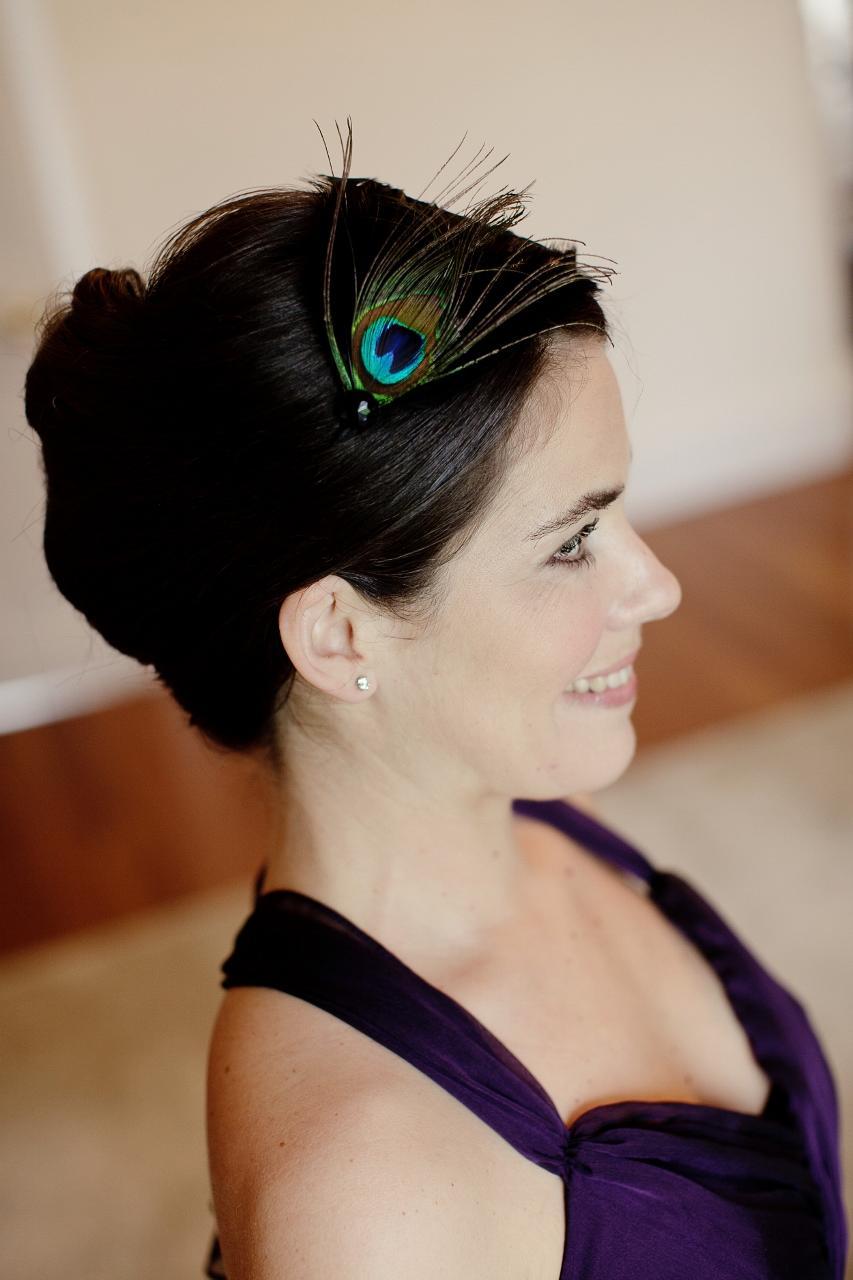 Art Deco Style Peacock