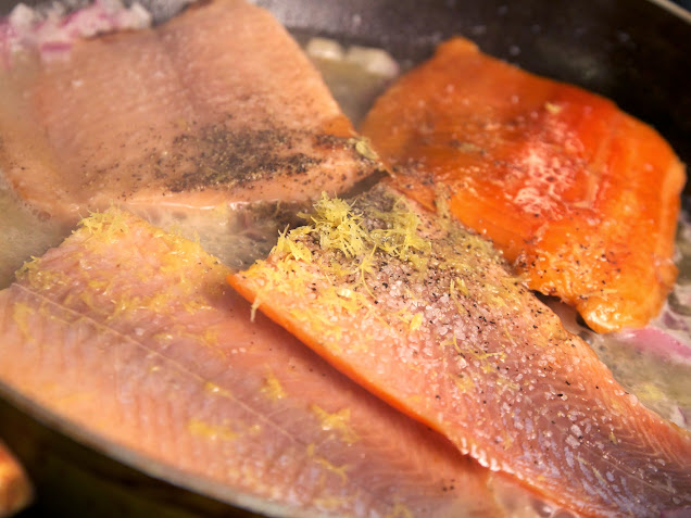 Trout in Butter