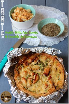 Tarte Poulet, Petits Pois, Cumin & Crumble de Parmesan 5