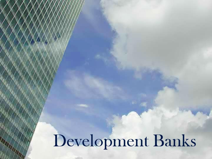 meaning definition of development banks