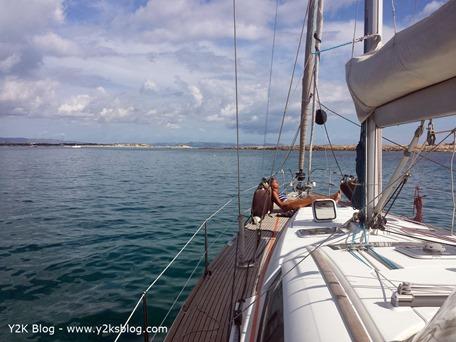 Ormeggiati a Punta Espalmador - Formentera