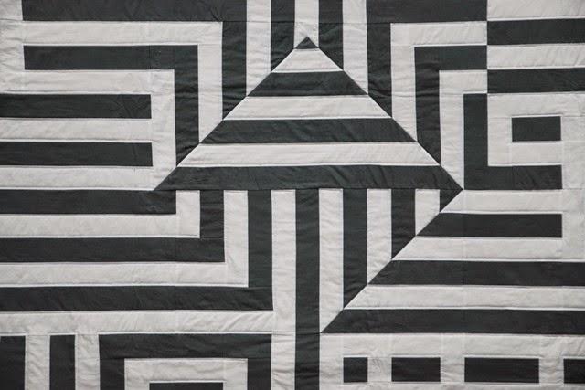 OptArt Quilt Detail