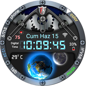 Moonwrld Watch Face For PC / Windows 7/8/10 / Mac – Free Download