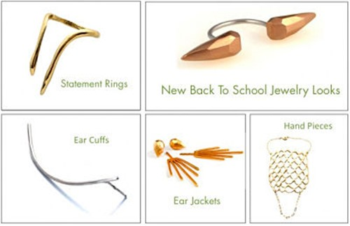Back To School Jewelry Looks from Visible Interest