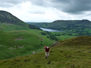 Loweswater comes into view