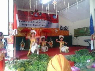 Tari Jempiring SMK T Wira Bhakti Denpasar