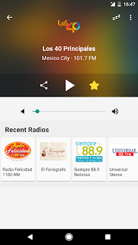 Radio México APK screenshot thumbnail 2