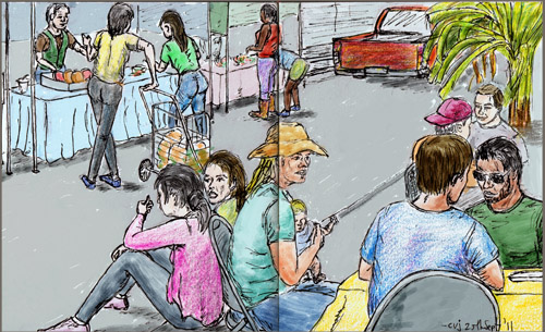 Festival Memory Drawing View at Picasa