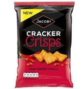 Jacobs Cracker Crisps Thai Sweet Chili Flavour Promo Image