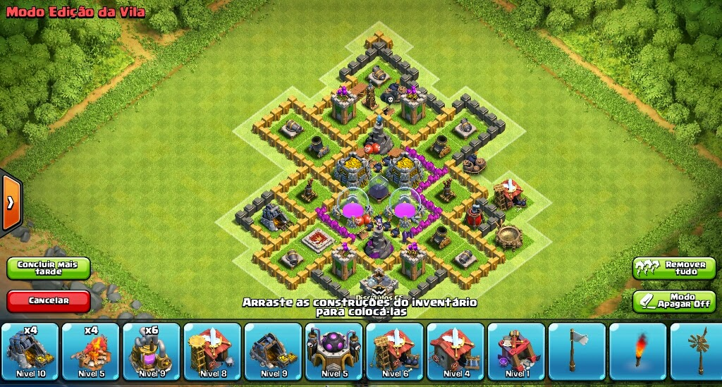 clash of clans layout farm cv 7 star layouts