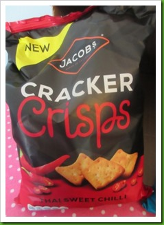Jacobs Cracker Crisps Thai Sweet Chilli