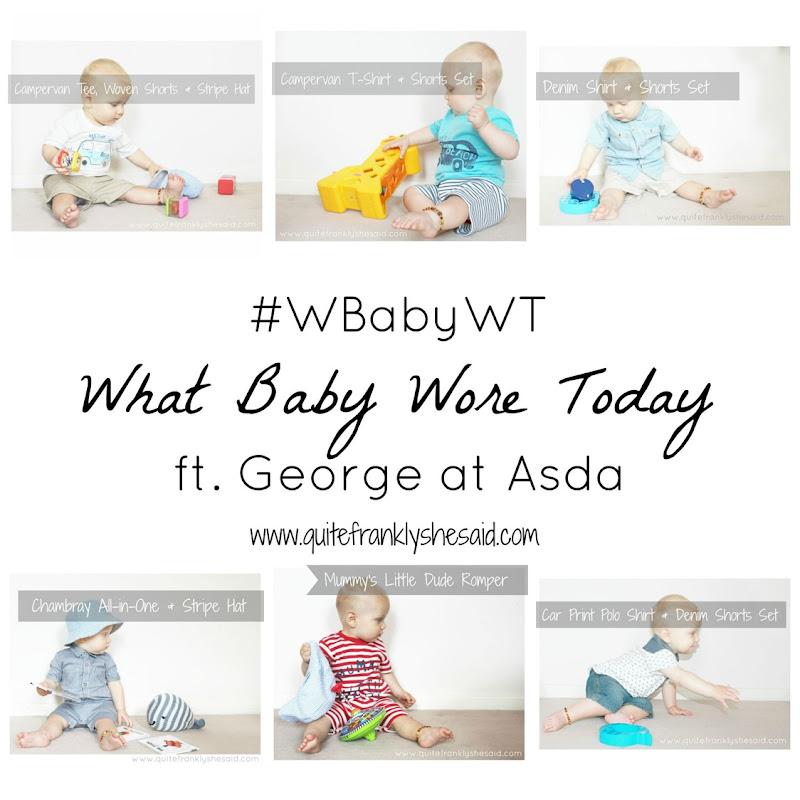 #wbabywt george asda