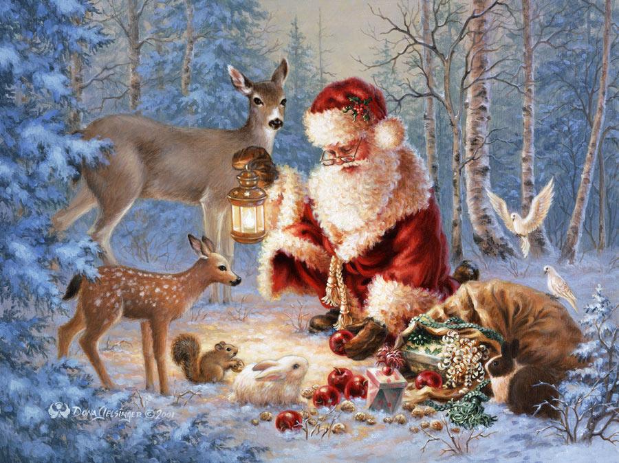 Imagenes bellos paisajes navideños Imágenes de Navidad  - Paisajes De Navidad Hermosos