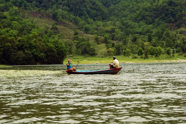 озеро фева рыбаки