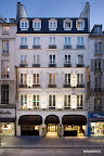 El frente del hotel parisino en todo su esplendor. Gentileza: Hotel Pulitzer.