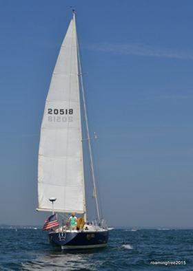 Sailing Lake St. Clair