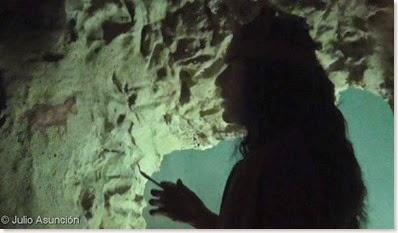 Recreación de la Cueva de las Arañas - Santa Pola