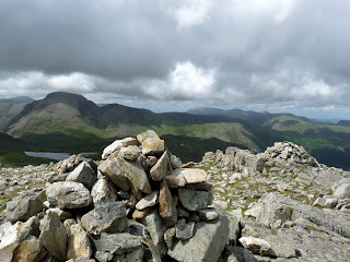 Allan Crags with Great Gable