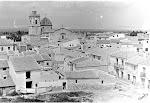 Panorámica del casco antiguo de la Villa. Años 70. (Charles). Biblioteca Municipal de Catral.