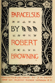 Cover of Robert Browning's Book Paracelsus