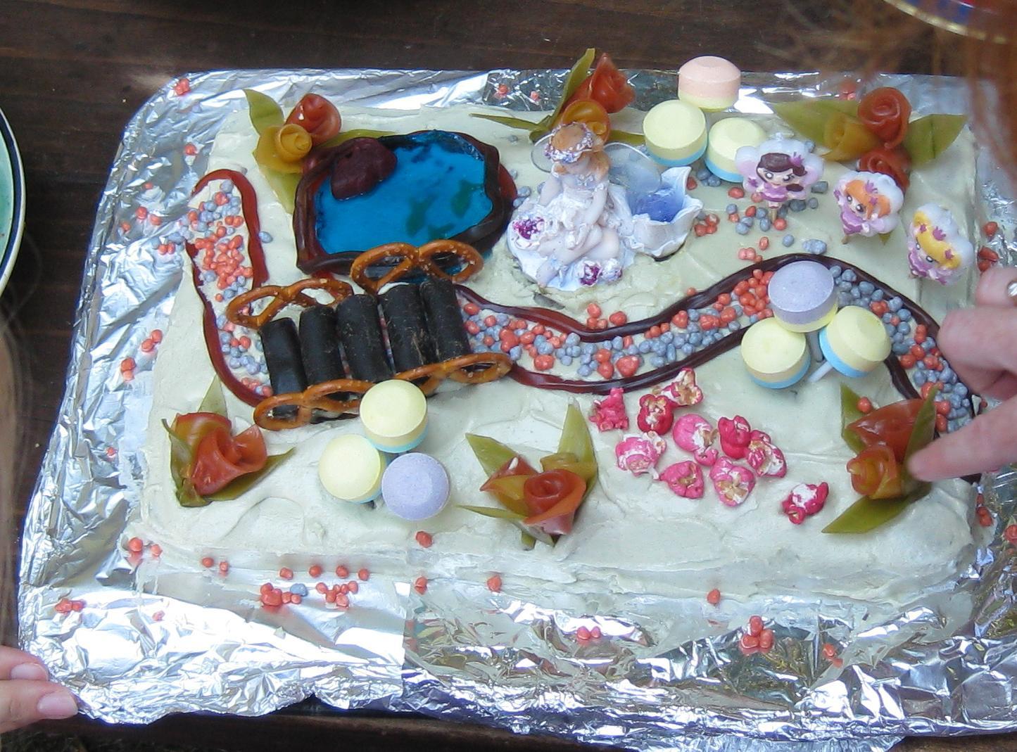 The Fairy Garden Cake