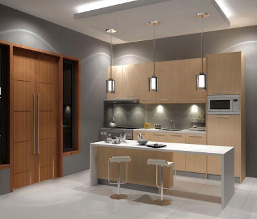 menata desain interior dapur rumah minimalis 2 terbaru