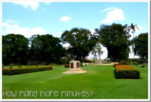 Adelaide River War Cemetery | How Many More Minutes?