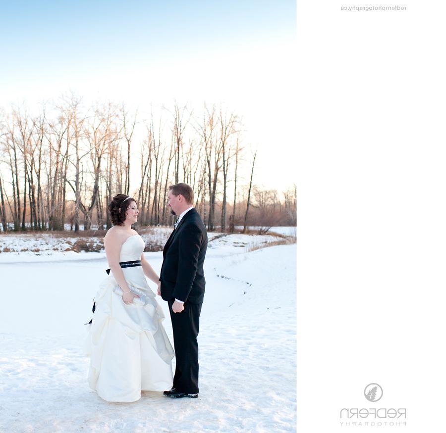 Calgary Winter Wedding