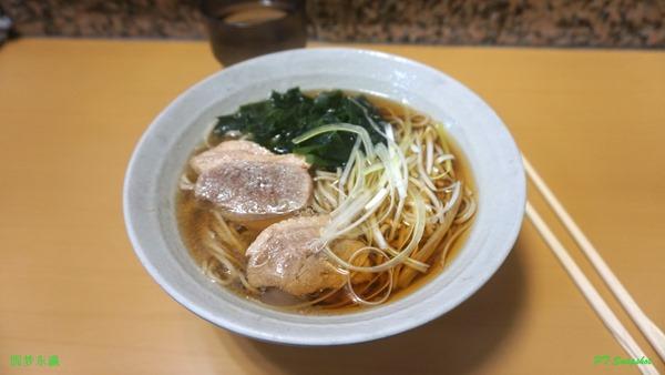 鸭南蛮(かもなんばん)的蕎麥面