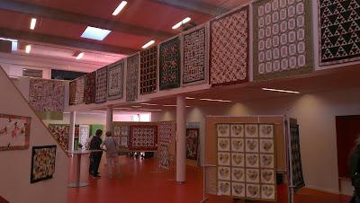 Et glimt af udstillingen på Horsens Byskole