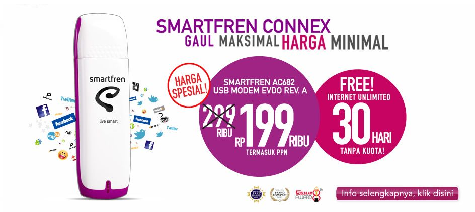Modem Smartfren 199ribu 