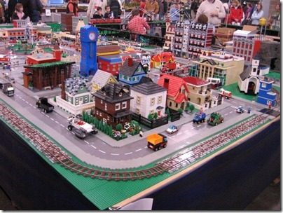 IMG_0833 Puget Sound Lego Train Club Layout at the WGH Show in Puyallup, Washington on November 21, 2009