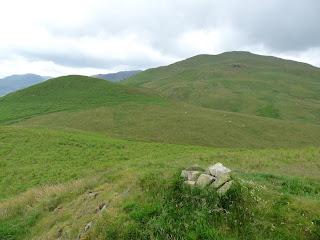 Bracken How Summit cairn.
